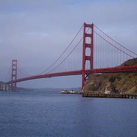Golden Gate at Sunrise from Fort Baker