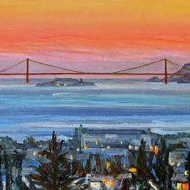 Robert Gerdes - Golden Gate at Twilight