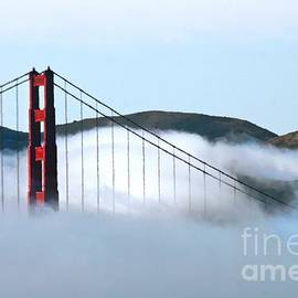 Tap On Photo - Golden Gate Bridge Clouds