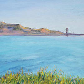 Asha Carolyn Young - Golden Gate Bridge in Early Morning