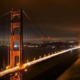 Steve Luther - Golden Gate Evening
