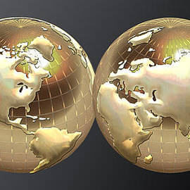 Serge Averbukh - Golden Globes - Eastern and Western Hemispheres on Black