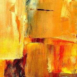 VIVA Anderson - Golden Glow Abstract
