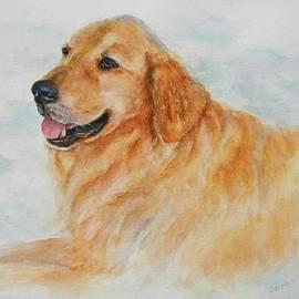 Carolyn Gray - Golden Retriever Watercolor