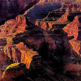 Bob and Nadine Johnston - Golden Hour Mather Point Grand Canyon National Park