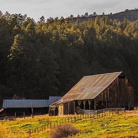 Paul Freidlund - Golden Hour on Colorado Barn
