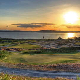 Chris Anderson - Golden Orb - Chambers Bay Golf Course