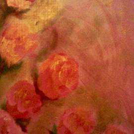 Christy Saunders Church - Golden Pink Roses
