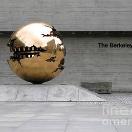 Menega Sabidussi - Golden Sphere by the Berkeley Library