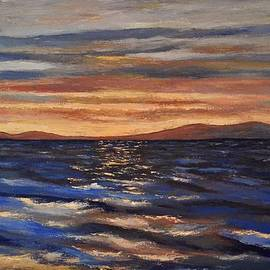 Dimitra Papageorgiou - Golden Sunset