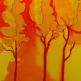 Antoinette  Andersen - Golden Trees