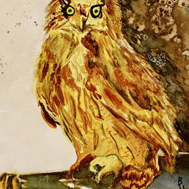 Beverley Harper Tinsley - Goldene Bier Eule