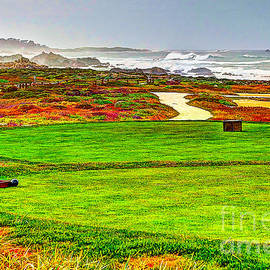 Jim Carrell - Golf Tee at Spyglass Hill