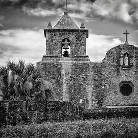 Chanin Green - Goliad Mission Black and White