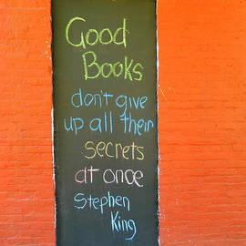 Kathy Barney - Good Books