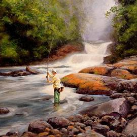 Michael Swanson - Good Fishing SOLD