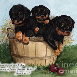 Nancy Patterson - Good Rotty Pups