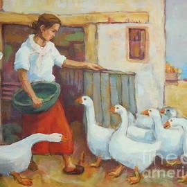 Johannes Strieder - Goose Girl