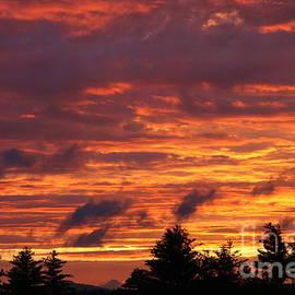 Neal Eslinger - Gorham Sunset After Rain