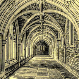 Geraldine Scull   - Gothic Arches at Princeton University in New Jersey