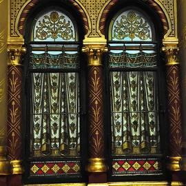 Karen E Camilleri - Gothic Window