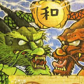 Jo Ann Tomaselli - Graffiti Wall 2 Image Art