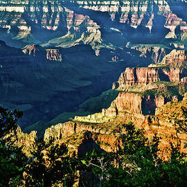 Bob and Nadine Johnston - Grand Canyon  Golden Hour on Angel Point