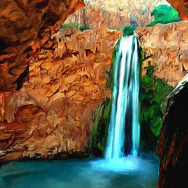 Bob and Nadine Johnston - Grand Canyon Havasu Falls