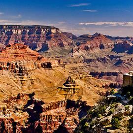 Bob and Nadine Johnston - Grand Canyon Painting