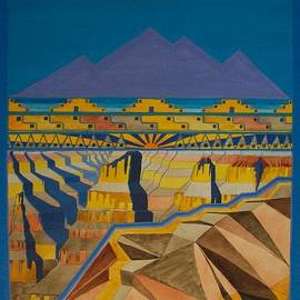Gary Rowell - Grand Canyon Pueblo