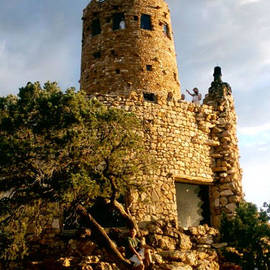 Ana Lusi - Grand Canyon Series #127 - Desert View Watchtower -