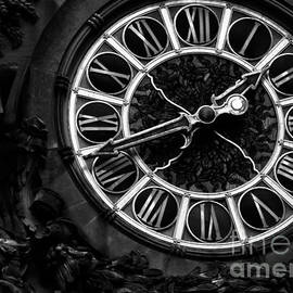 James Aiken - Grand Central Timekeeper - BW