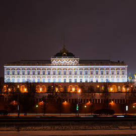 Alexander Senin - Grand Kremlin Palace At Night