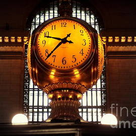 Miriam Danar -  Grand Old Clock at Grand Central Station - Front