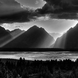 Aidan Moran - Grand Teton Light Beams