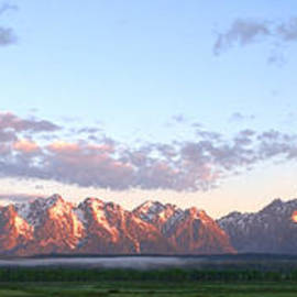 Brian Harig - Grand Teton Sunrise Panorama