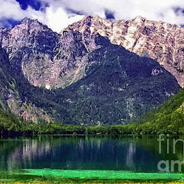 Bob and Nadine Johnston - Grand Tetons National Park Painting