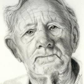 Susan A Becker - Grandpa Full of Grace Drawing