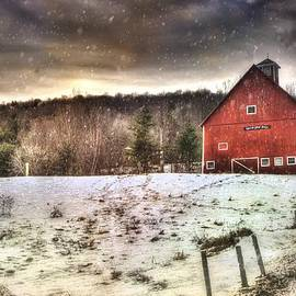 Joann Vitali - Grand View Farm - Vermont Red Barn
