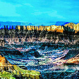 Bob and Nadine Johnston - GrandView viewpoint Grand Canyon