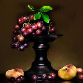 Carol Eade - Grapes and Peaches
