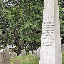 Janice Drew - Gravesite of Gov William Bradford