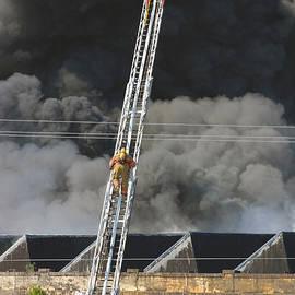 Joseph C Hinson Photography - Great Falls Mill Fire 1