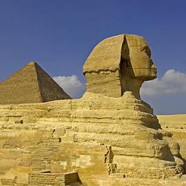 Claudio Bacinello - Great Sphynx and Pyramid