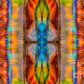 Omaste Witkowski - Great Spirit Abstract Pattern Artwork by Omaste Witkowski