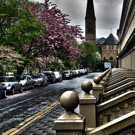 Cynthia Lagoudakis - Great Western Road in Glasgow