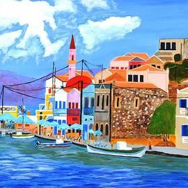 Magdalena Frohnsdorff - Greek coast