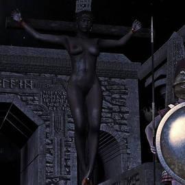 Ramon Martinez - Greek crucifixion scene