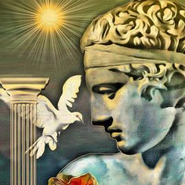 Eleni Mac Synodinos - Greek God