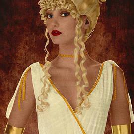 Zsolt Sesztak - Greek goddess marquetry